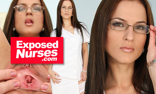 exposed nurses 500x300 7 click here for sexy nurse video